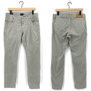 Jeckerson Heritage Slim Gray Low-Rise Jeans